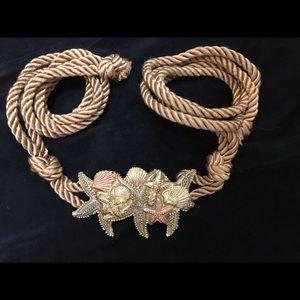 Jewelry - Starfish, Shell Necklace